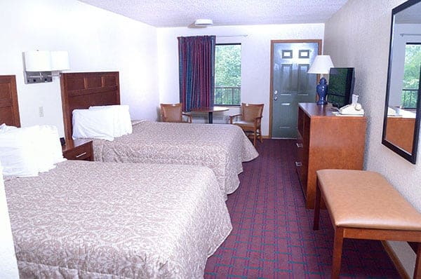 Room with two Queen beds at Valley Forge Inn