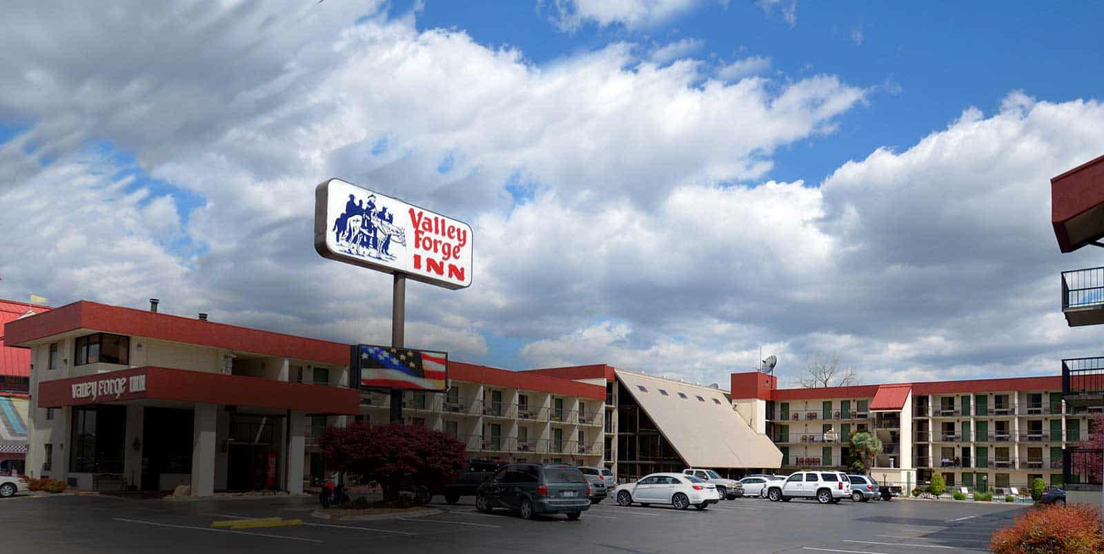 Valley Forge Inn in Pigeon Forge TN