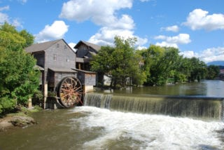 Scenic photo of The Old Mill Restaurant Pigeon Forge.